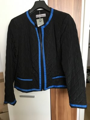 Steppjacke Jacke *Gr. 44* Schwarz Royalblau *Ashley Brooke* NEU