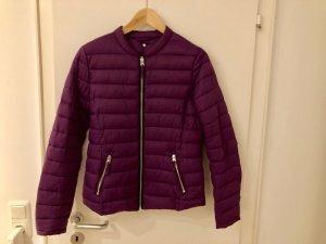 Veste matelassée violet