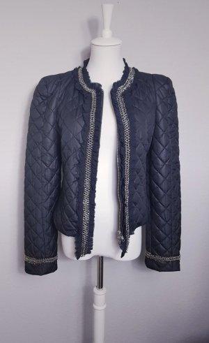 Alba Moda Overgangsjack zwart-zilver