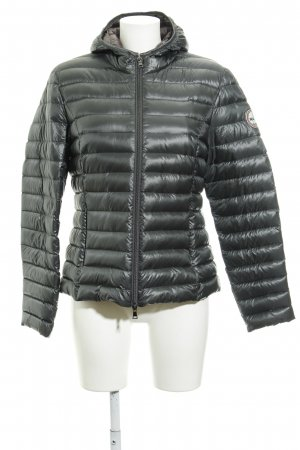 No. 1 Como Steppjacke petrol Street-Fashion-Look