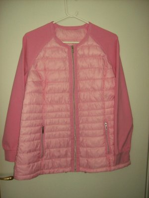 C&A Quilted Jacket pink mixture fibre