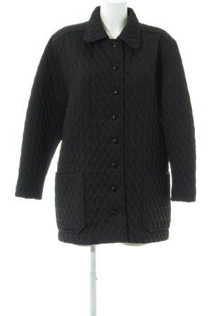 Veste matelassée noir style décontracté