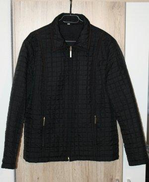 Steppjacke Übergangsjacke Jacke schwarz gesteppt
