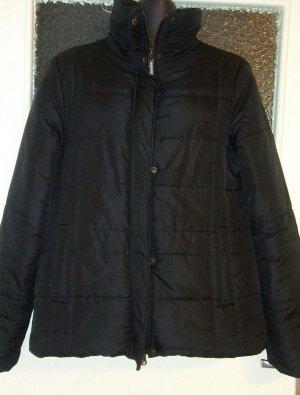 Esprit Quilted Jacket black mixture fibre