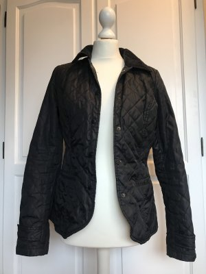 H&M Quilted Jacket dark blue