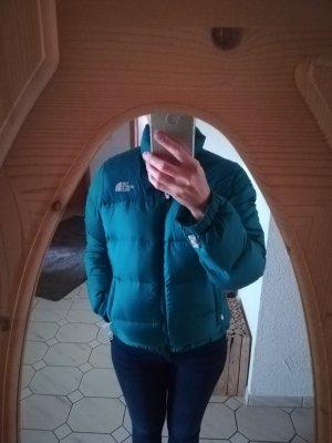 North Face Veste matelassée bleu pétrole-bleu cadet