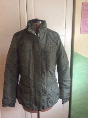 Street One Quilted Jacket khaki
