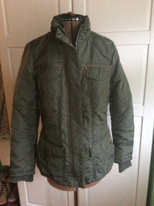 Street One Quilted Jacket khaki polyester