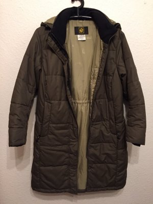 Jack Wolfskin Quilted Coat green grey