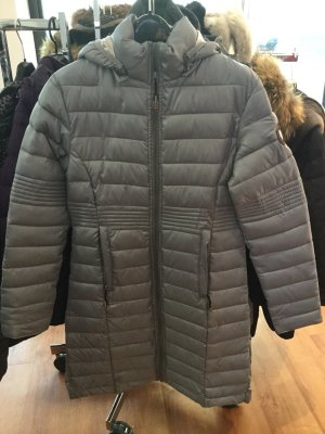 Geographical Norway Quilted Coat grey