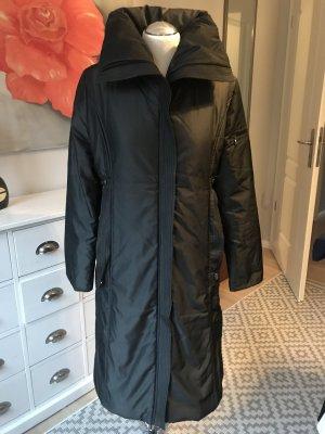 Classic Abrigo acolchado negro-gris antracita