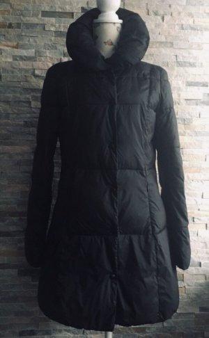 Armani Jeans Gewatteerde jas zwart