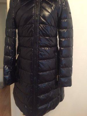 Marc Cain Gewatteerde jas donkerpaars-donkerblauw