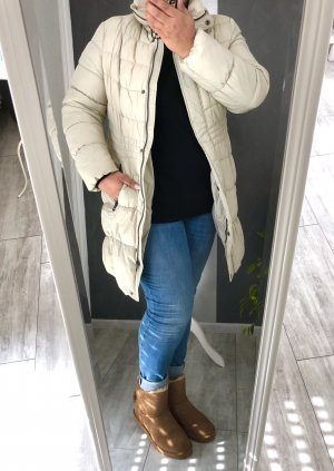 Yessica Quilted Coat oatmeal