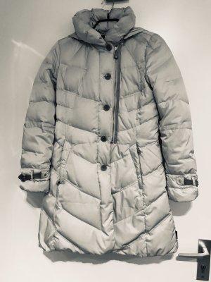 mabrun Abrigo de plumón blanco puro