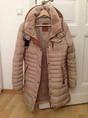 Quilted Coat beige-oatmeal polyester