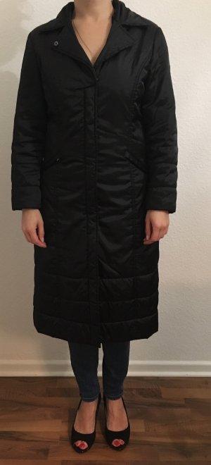 Abrigo acolchado negro