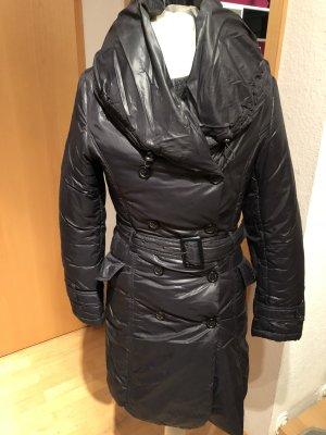 Hallhuber Manteau matelassé noir