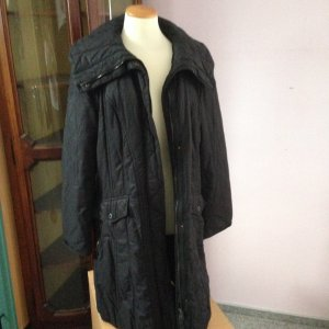 Marc Cain Quilted Coat black
