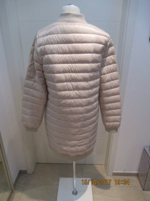 Zara Quilted Coat natural white