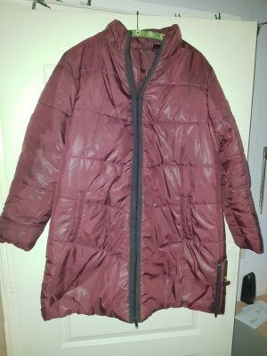 Bodyflirt Quilted Coat russet-carmine polyester