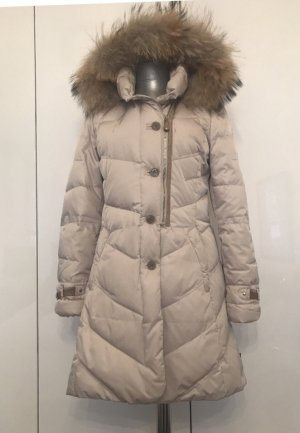mabrun Quilted Coat natural white