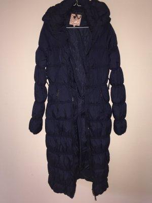 Steppmantel Wintermantel Mantel Daunenlook Silvian Heach, blau 38 M lang