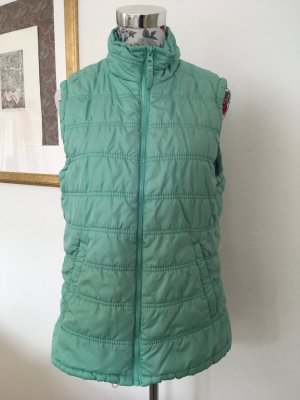 Quilted Gilet mint-lime-green