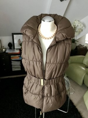 Quilted Gilet light brown