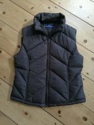 Quilted Gilet dark brown