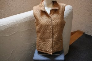 Kenny S. Quilted Gilet gold-colored polyester