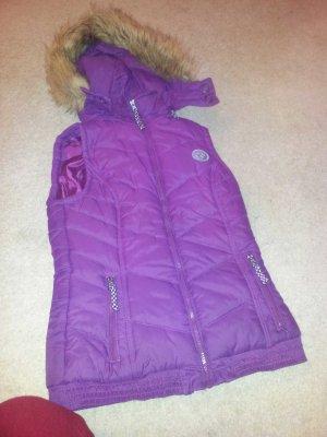 Colours of the World Gewatteerd vest violet