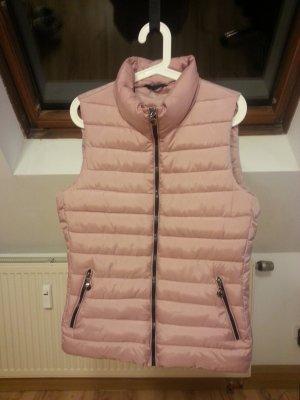 Gewatteerd vest roze Polyester