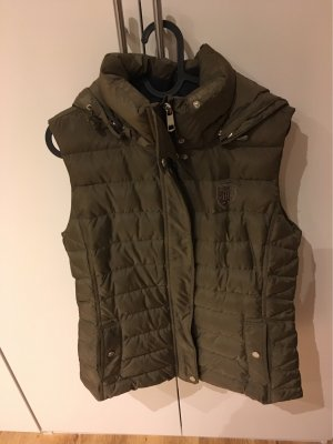 Tommy Hilfiger Quilted Gilet green grey
