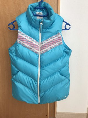 Adidas Quilted Gilet light blue