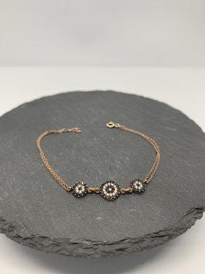 Silver Bracelet rose-gold-coloured-black