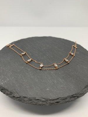 Silver Bracelet rose-gold-coloured