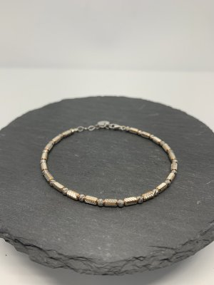 Silver Bracelet silver-colored-rose-gold-coloured