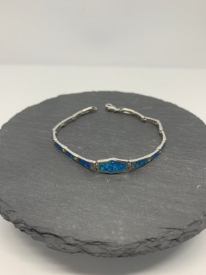 Sterling silber 925 armband opal neu