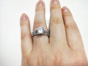 Sterling Silber Ring Ornamente 925