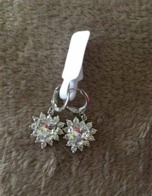 Sterling Silver 925 Ohrringe in weiß
