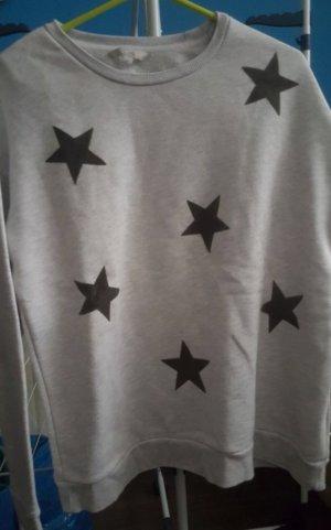 C&A Jersey de cuello redondo negro-gris claro