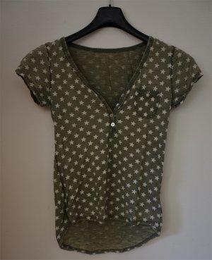 Camiseta gris verdoso Algodón