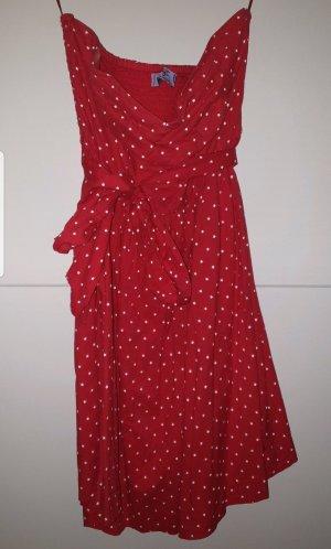 AJC Off-The-Shoulder Dress red