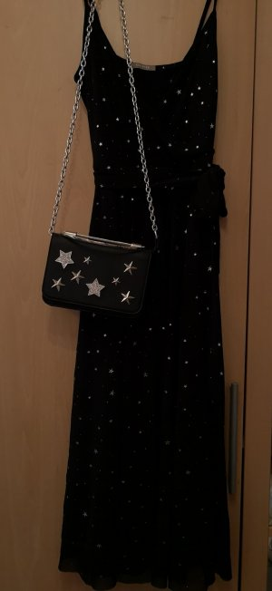 Orsay Midi-jurk zwart-zilver