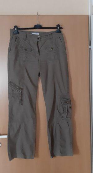 Steve Ketell Cargo Pants khaki-green grey cotton