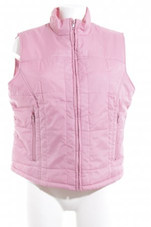 Steve Ketell Steppweste rosa Casual-Look
