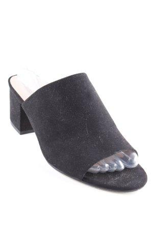 Steve Madden Heel Pantolettes black-nude elegant