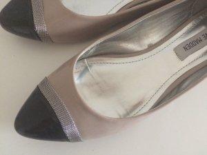 Steve Madden Ballerinas 40 puderrosa schwarz