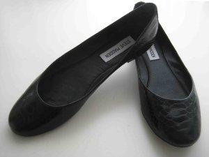 Steve Madden - Ballerinas schwarz, minimal Style - black snake